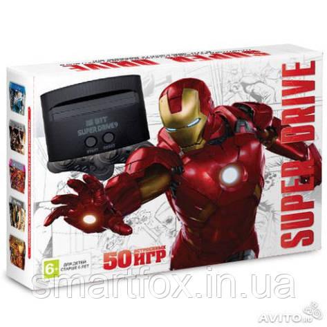 Игровая приставка 16-bit Sega Super Drive Iron Man (50 встроенных игр), фото 2