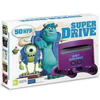 Игровая приставка 16-bit Sega Super Drive Monster Inc (50 встроенных игр)