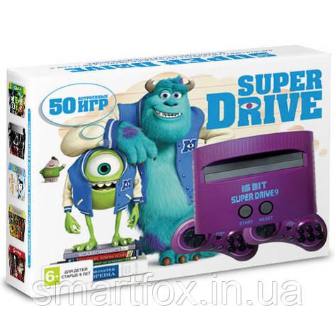 Игровая приставка 16-bit Sega Super Drive Monster Inc (50 встроенных игр), фото 2