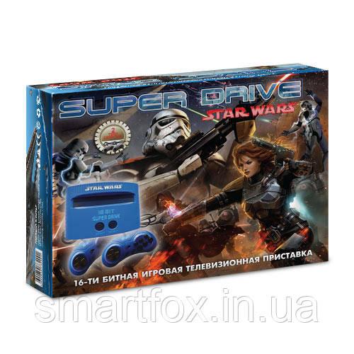Игровая приставка 16-bit Sega Super Drive Star Wars (8 встроенных игр)