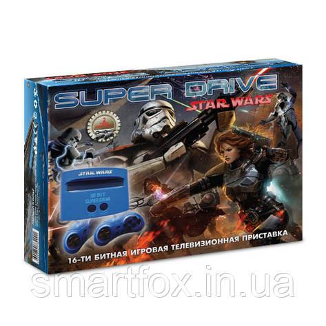 Игровая приставка 16-bit Sega Super Drive Star Wars (8 встроенных игр), фото 2