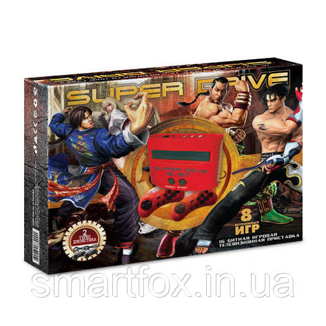 Игровая приставка 16-bit Sega Super Drive Tekken (8 встроенных игр), фото 2