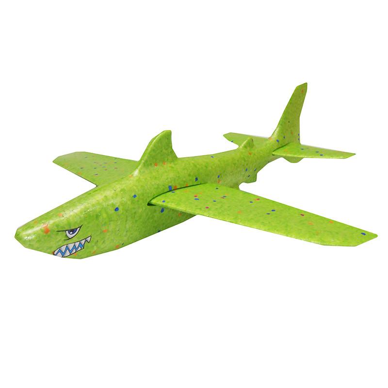 """Літак планер 111582 """"Акула"""" 4 кольори, 45 см"""