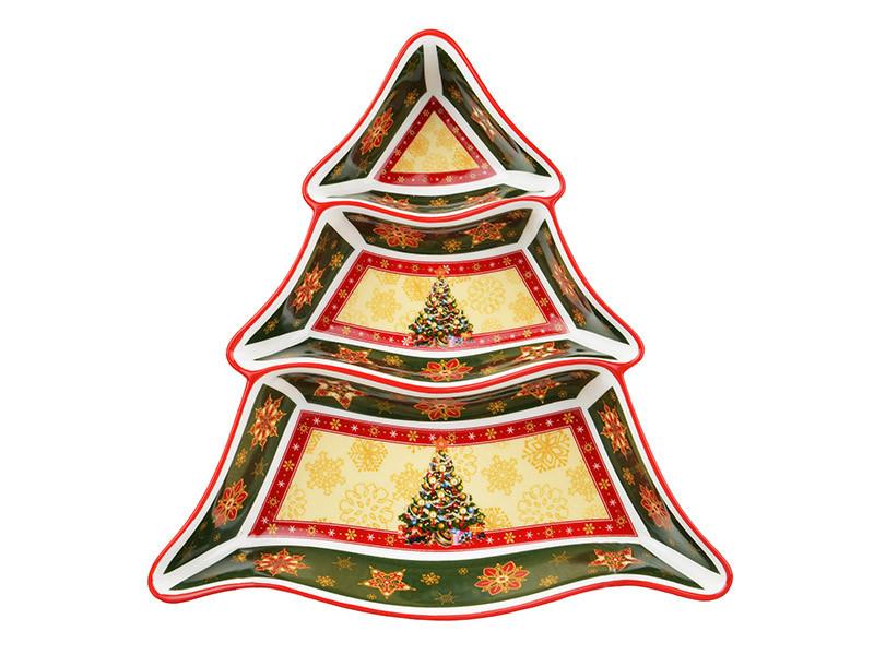 Менажница Lefard Christmas collection 25 см , 586-053