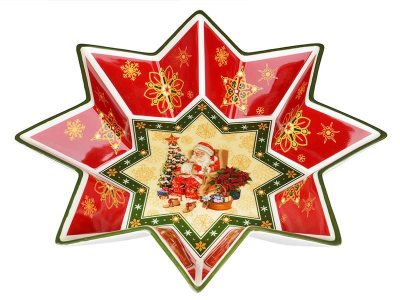 Салатник Lefard Christmas collection 26 см , 586-128