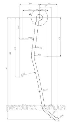 Уплотнитель крыши BCS (14м), фото 2