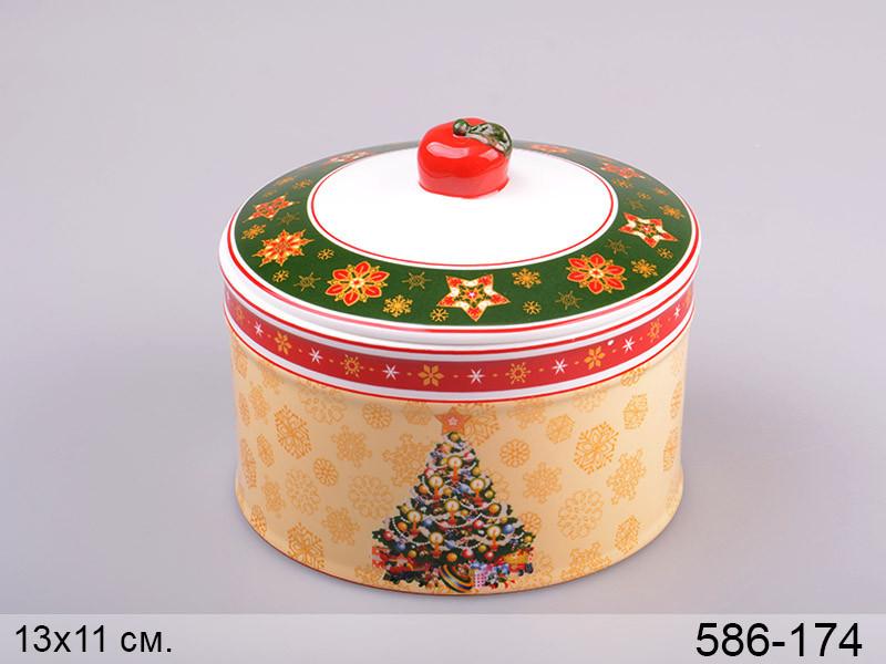 Банка для сыпучих продуктов Lefard Christmas collection 11х13 см, 586-174
