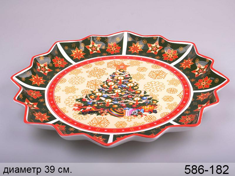 Блюдо Lefard Christmas collection 39 см , 586-182