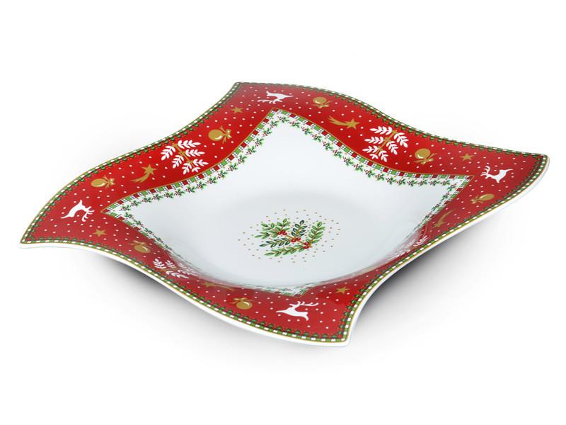 Блюдо Lefard Christmas collection 26х26 см, 586-329