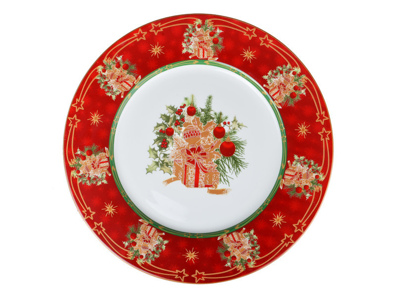Тарелка Lefard Christmas collection 25,9 см, 586-337