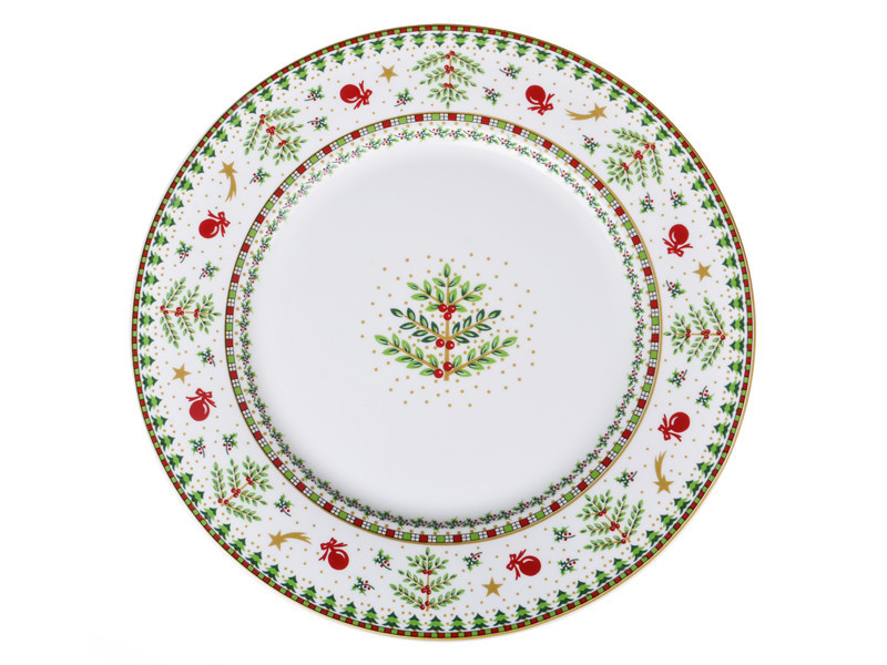 Тарелка Lefard Christmas collection 25,9 см, 586-339
