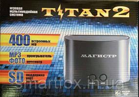 """Игровая приставка SD card """"Titan"""" 8-bit + 16-bit (400 встр.игр)"""