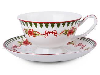 Чайный набор Lefard Новогодняя коллекция 2 предмета, 924-129