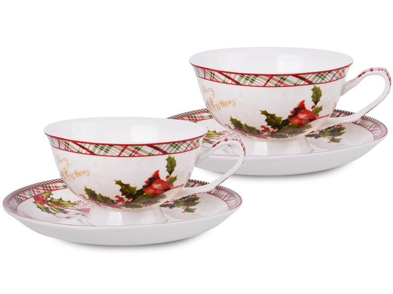 Чайный набор Lefard Новогодняя коллекция 4 предмета , 924-134