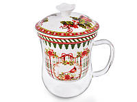 Чашка заварочная Lefard Новогодняя коллекция 400 мл, 924-137