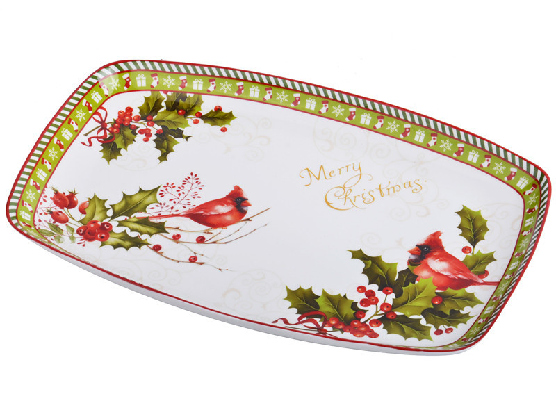 Блюдо Lefard Новогодняя коллекция 27 см, 924-144