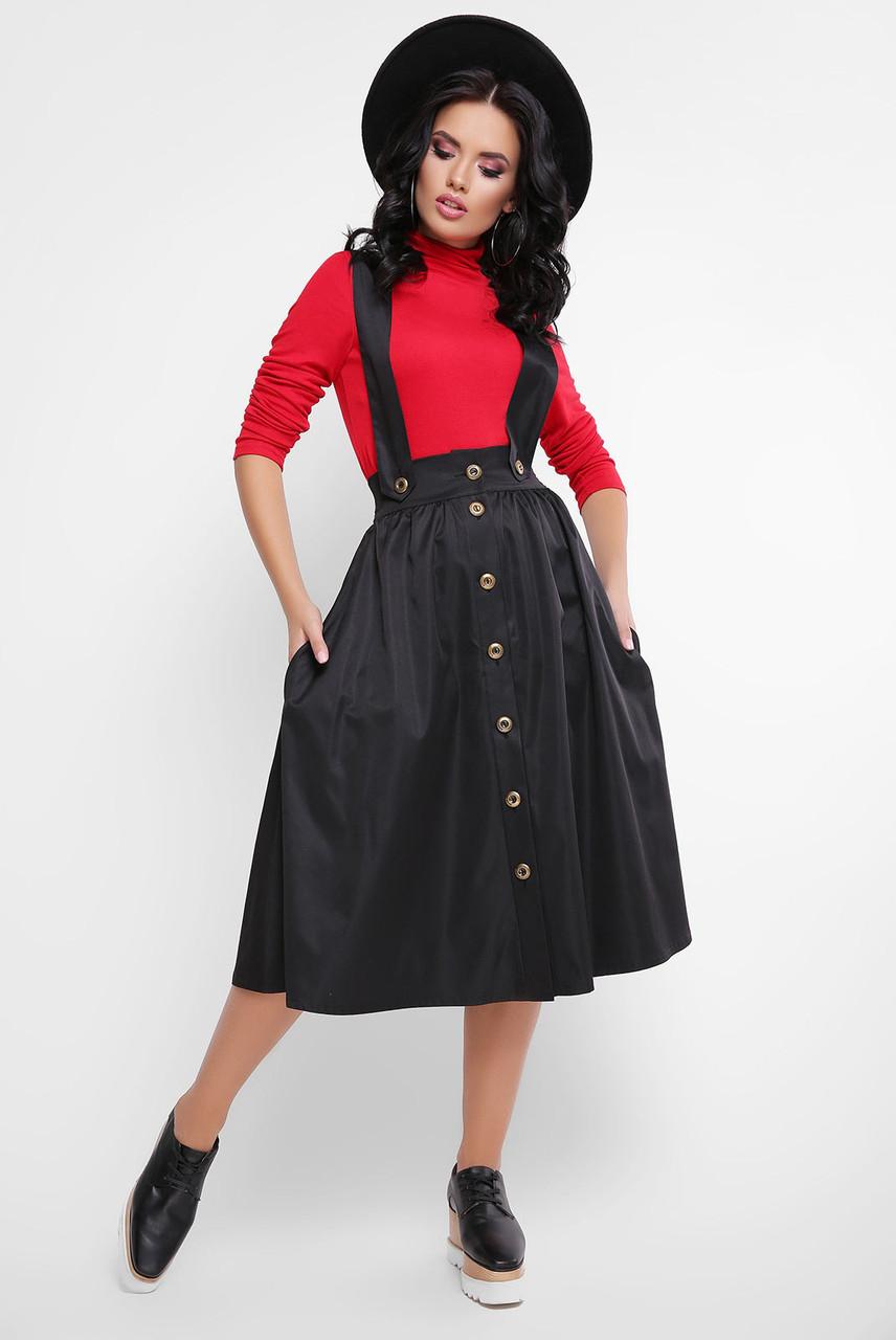 Женская юбка пышная на бретельках 4711123