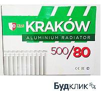 Алюминиевый радиатор Краков Польша 500х80