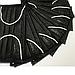 Маска медицинская, 4-х слойные, на резинке, с гибким носовым фиксатором, в упаковке 40 шт, Черные, фото 2