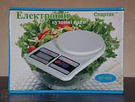 Кухонные весы до 10 кг (Спартак) с батарейками