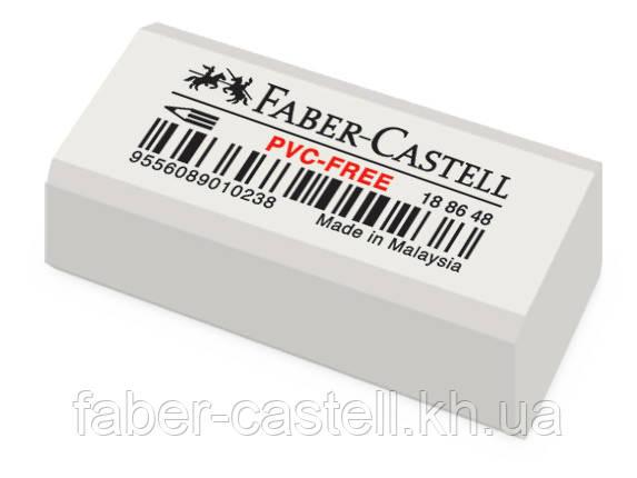 Ластик Faber-Castell 7086-48 виниловый белый , 188648