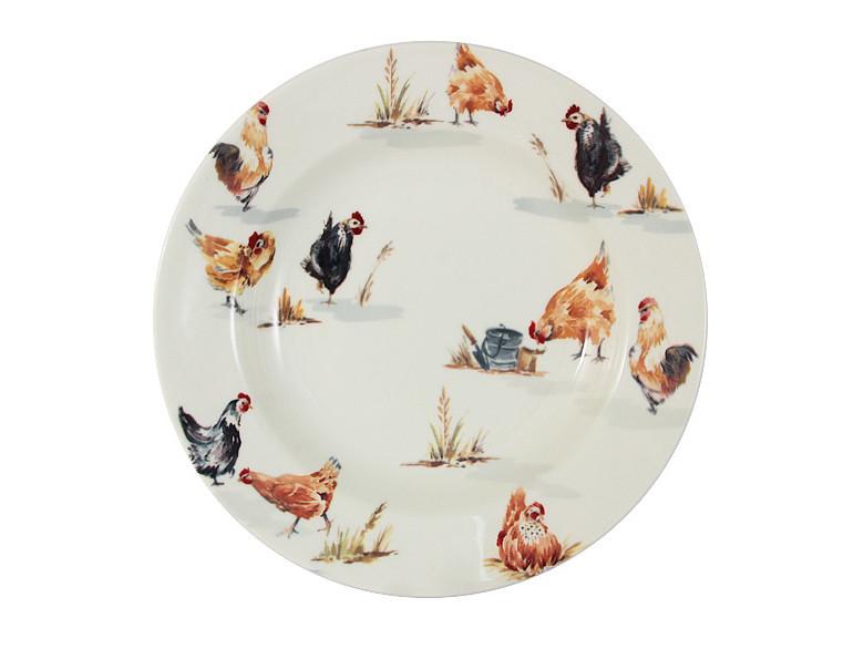 Тарелка глубокая Lefard Птичья ферма 24 см, 910-123