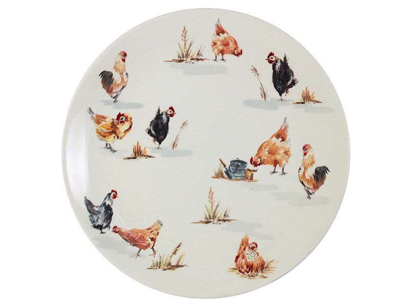 Тарелка Lefard Птичья ферма 27 см, 910-120