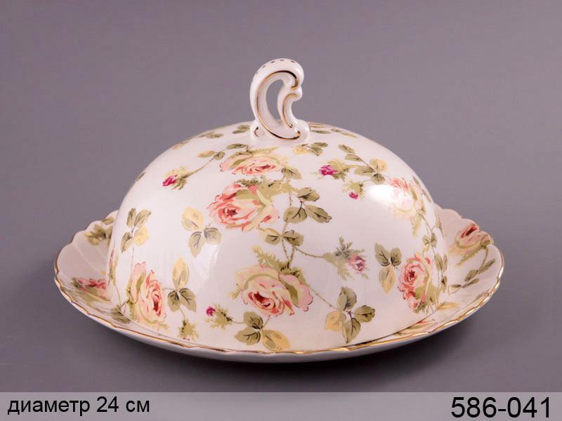 Блюдо с крышкой Lefard Эмма 24 см, 586-041