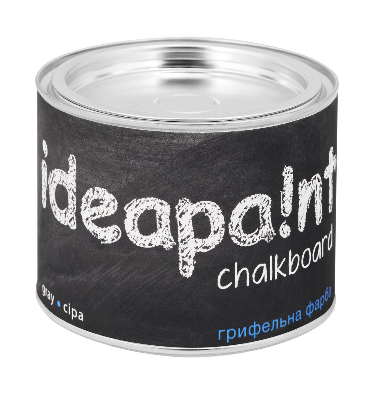 Грифельная краска  ideapaint  0,5 л. серая