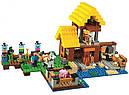 """Конструктор Bela 10813 """"Фермерский коттедж"""" (Lego Minecraft 21144), 560 дет., фото 2"""