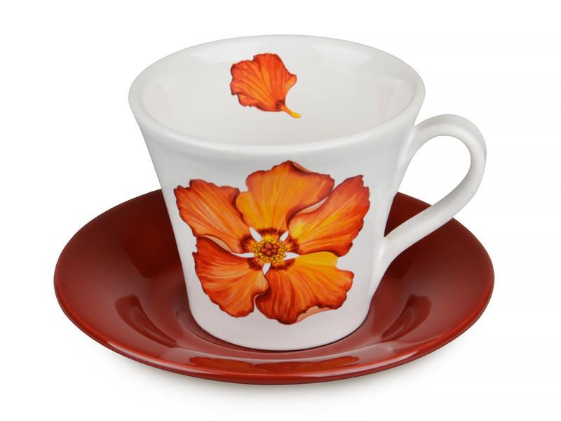 Чайный набор Nuova Cer Primavera 2 предмета 350 мл, 612-009