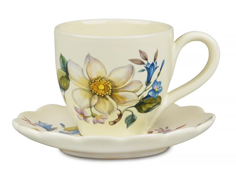Чайный набор Nuova Cer Primavera 2 предмета 300 мл, 612-050