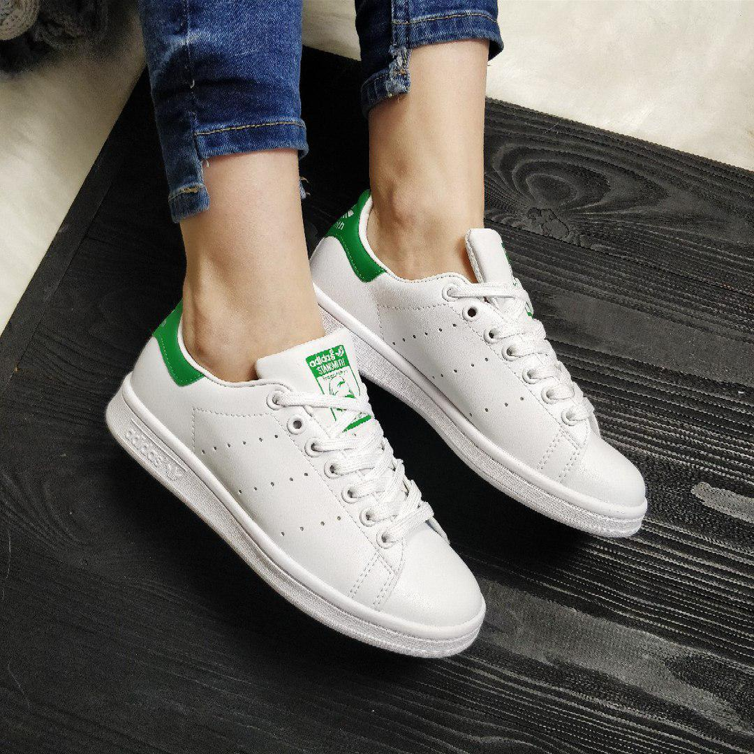 Кроссовки в стиле Adidas Stan Smith White Green - FashionVerdict - интернет-магазин  одежды, 5e2c33d40f0