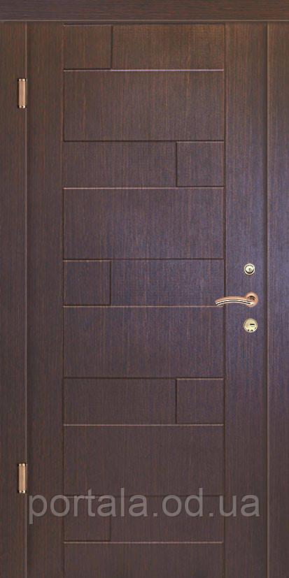 """Вхідні сталеві броньовані двері з гарантією """"Портала"""" (серія Стандарт) ― модель Пазл"""