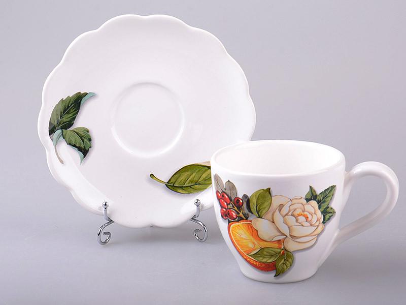 Чайный набор Nuova Cer Primavera 2 предмета 300 мл 7417-AER, 612-132