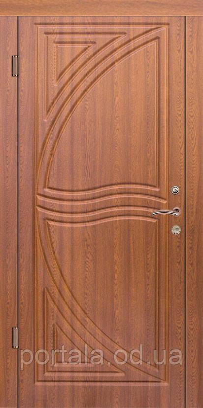 """Вхідні сталеві двері для квартири """"Портала"""" (серія Стандарт) ― модель Парус(950*2040)"""