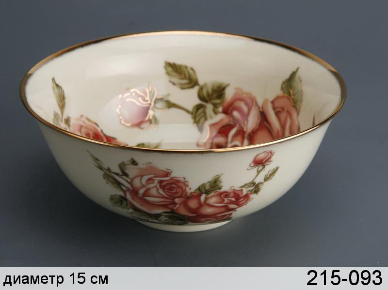 Салатник Lefard Корейская роза 15 см, 215-093