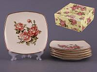 Набор тарелок Lefard Корейская роза 18 см 6 предметов, 215-144