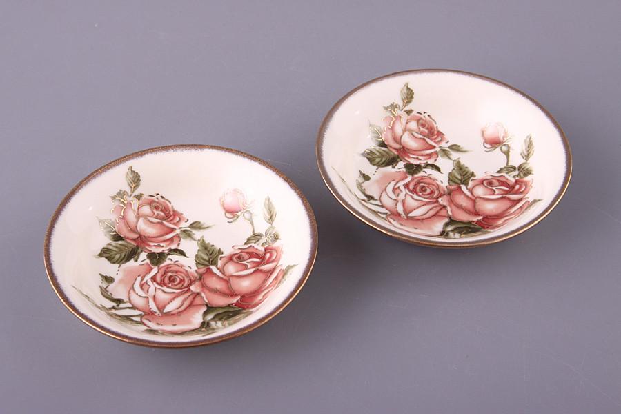 Набор блюдец Lefard Корейская роза 11 см 2 предметов, 215-214