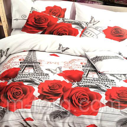 Комплект постельного белья полуторный 150/220, нав-ки 70/70, ткань поплин, 100% состоит из хлопка, фото 2