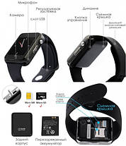 Смарт-часы SmartWatch UWatch A1 Black, фото 3