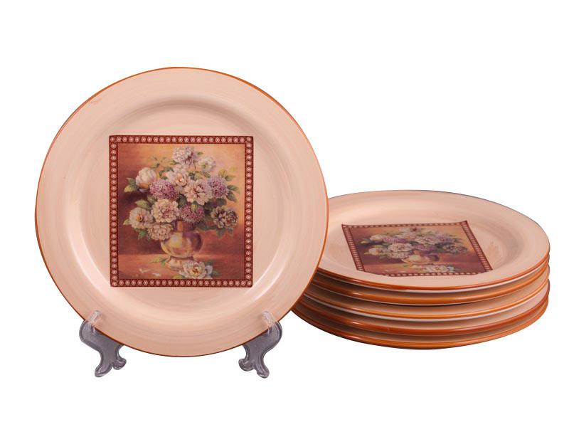 Набор тарелок Lefard Букет 20 см 6 шт , 358-359
