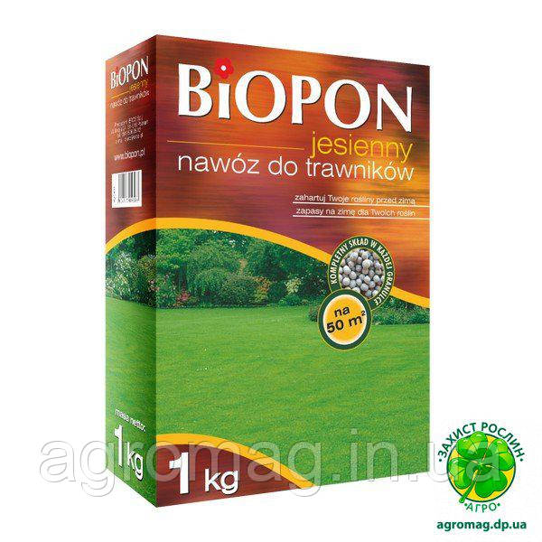 Biopon осіннє для газону 1кг
