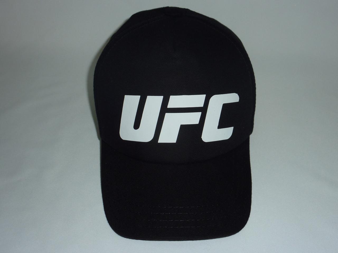 Кепка UFC черная