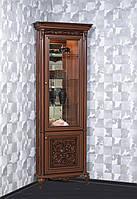 Витрина Тоскана Лукка угловая (Скай) 770х2320х770 мм.