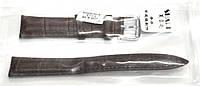 Ремінець 054 шкіра коричневий 22 мм