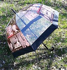 """Зонт-трость прозрачный с изображением """"Мэрилин Монро"""", фото 3"""