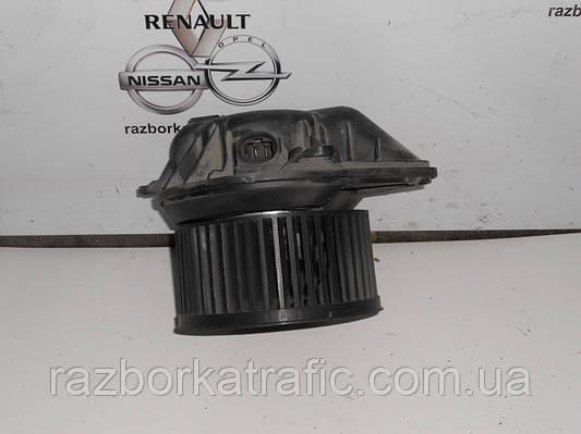 Вентилятор печки, узкая фишка на Renault Trafic, Opel Vivaro, Nissan Primastar