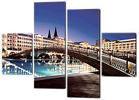 Модульная картина Гостиница Мардан Палас. Анталия