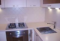 Угловая кухонная столешница из искусственного акрилового камня TriStone